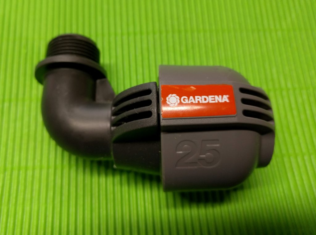 Gardena L-Stück mit 1/2 Zoll AG
