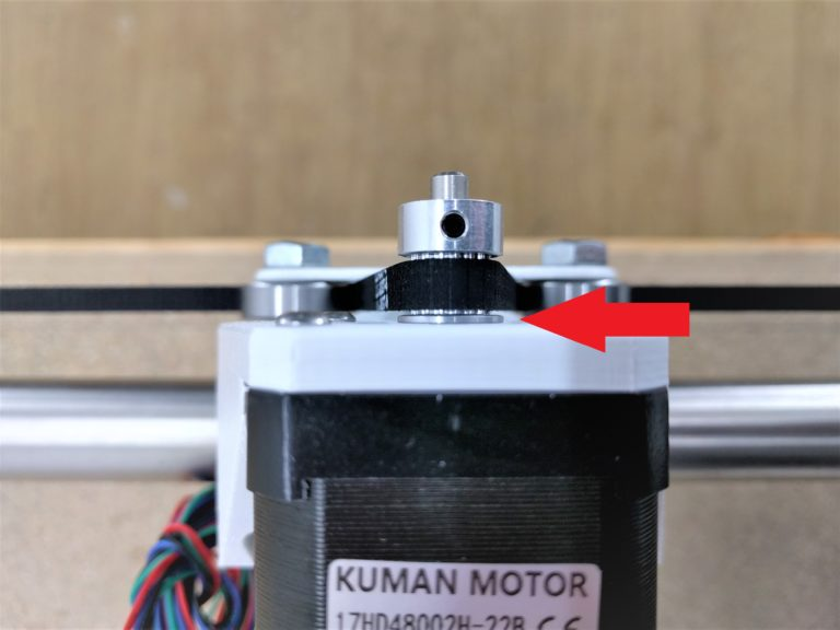 Pulley Position an der MPCNC